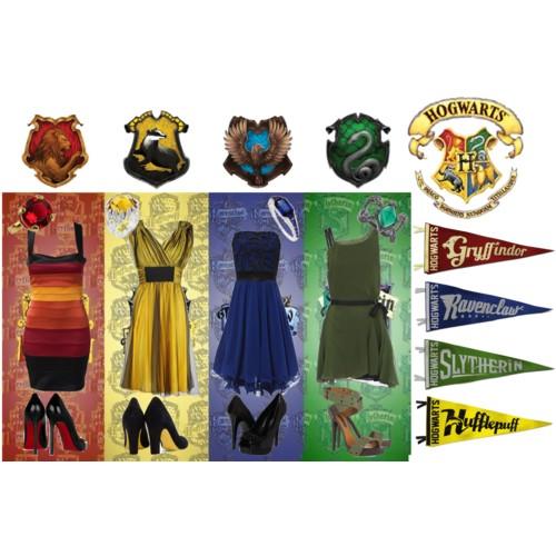 hogwarts house fashion jackie lea sommers. Black Bedroom Furniture Sets. Home Design Ideas