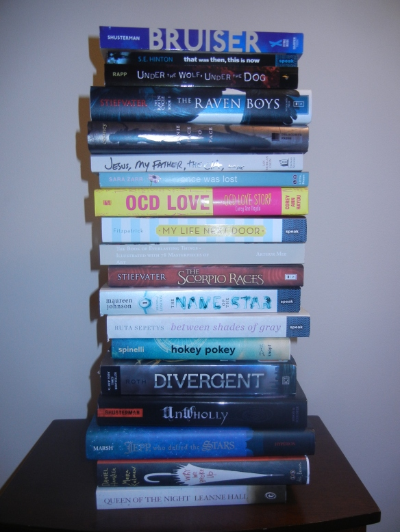 I still need to read these 19 ... and have 7 more pre-ordered or on their way.  I CAN'T STOP.