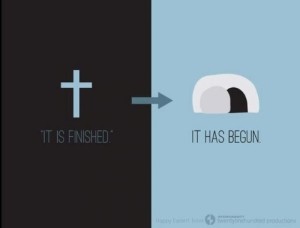 cross and resurrection