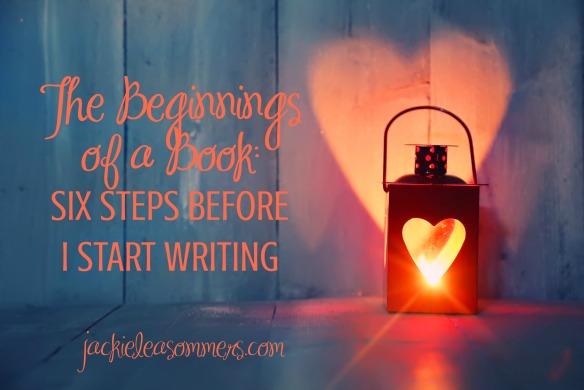 beginnings of a book