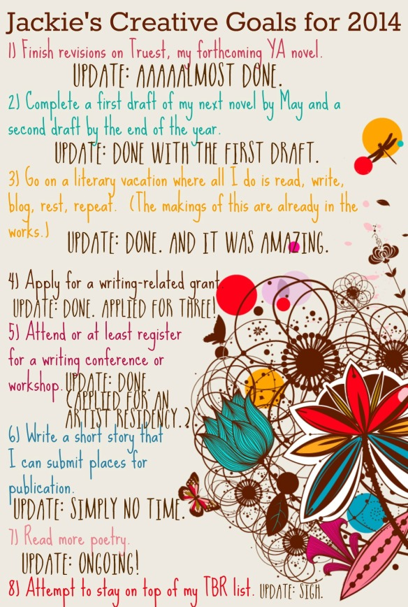 creative goals 2014 sept update