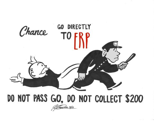 do not pass go ERP