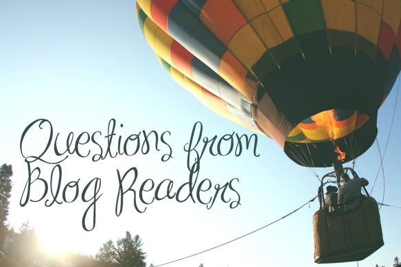 questions from blog readers