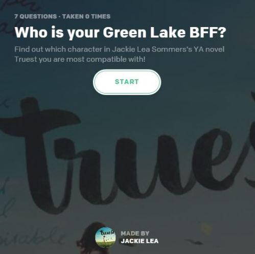 Green Lake BFF Quiz