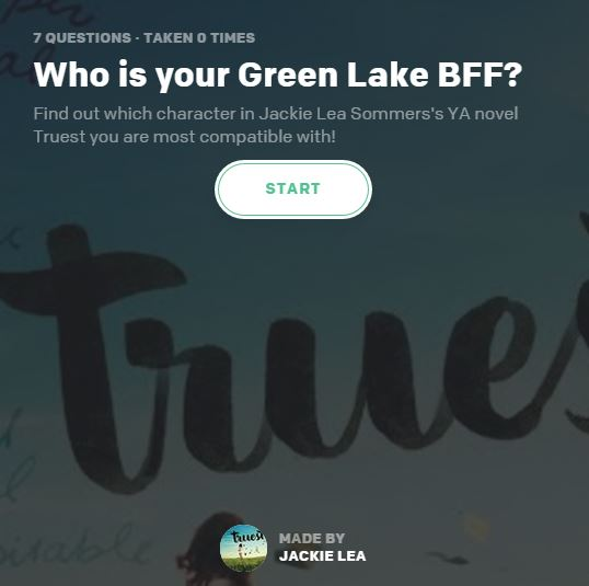 Green Lake BFF Quiz